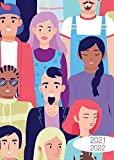 A4 Planer kreativ 2021/2022: Bestseller in limitierter Auflage - die Woche auf einen Blick im Großformat